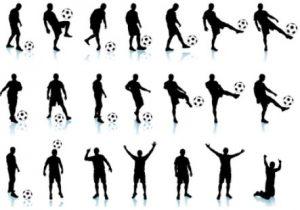 gambar Teknik Dasar Sepak Bola