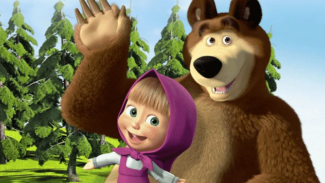 gambar Sejarah masha and the bear