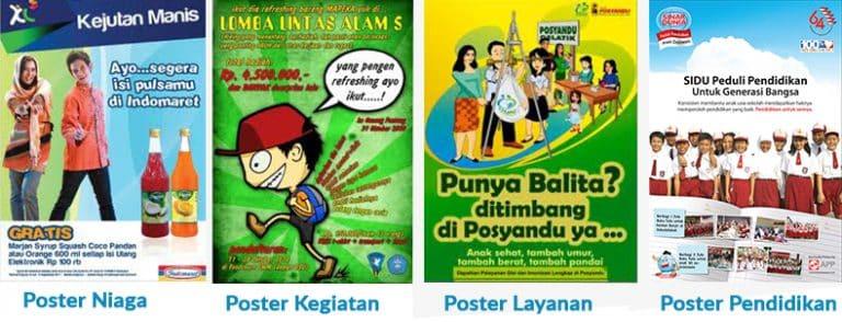 Pengertian Poster Ciri Ciri Poster Syarat Syarat Poster Yang