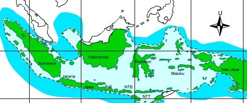 gambar Batas Wilayah Laut Indonesia