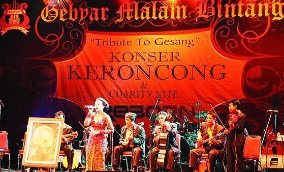 gambar musik keroncong di indonesia