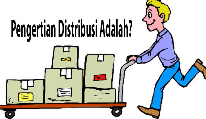 gambar pengertian distribusi