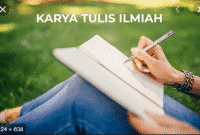 Pengertian, Struktur dan Ciri Ciri Karya Tulis Ilmiah