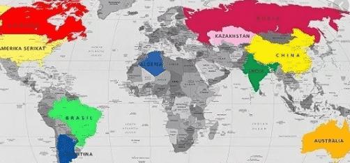 negara terbesar di dunia
