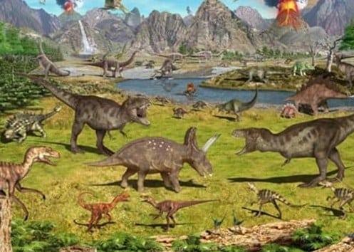 Punahnya dinosaurus dan reptil-reptil raksasa