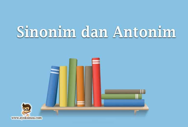 Pengertian-Sinonim-dan-Antonim