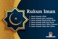 rukun-iman-wajib